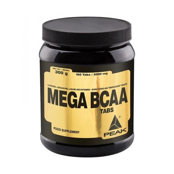 Mega BCAA -150tab -prehransko dopolnilo