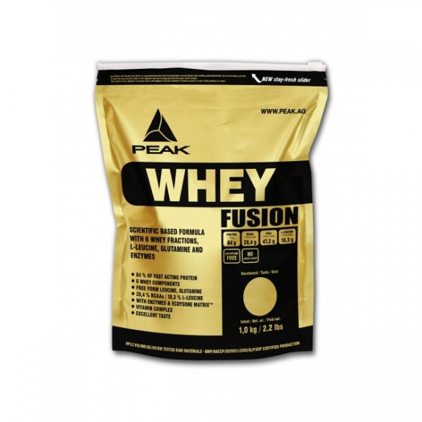 WHEY PROTEIN FUSION/SELECTION- 1KG