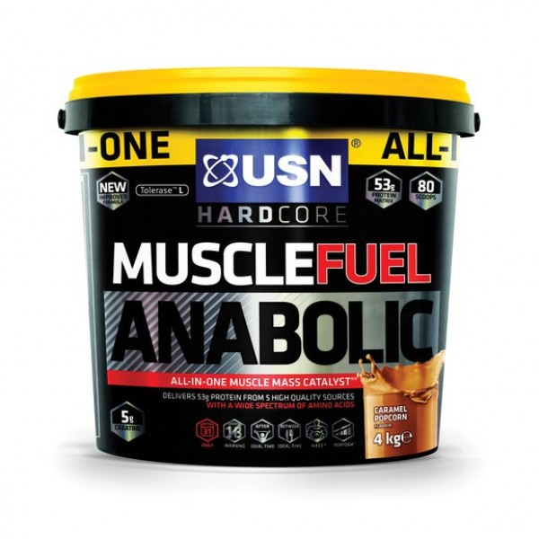 MUSCLE FUEL ANABOLIC 4kg+ GALON +SHAKER